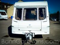 (Ref: 880) Swift Corvette Classic 4 Berth Touring Caravan