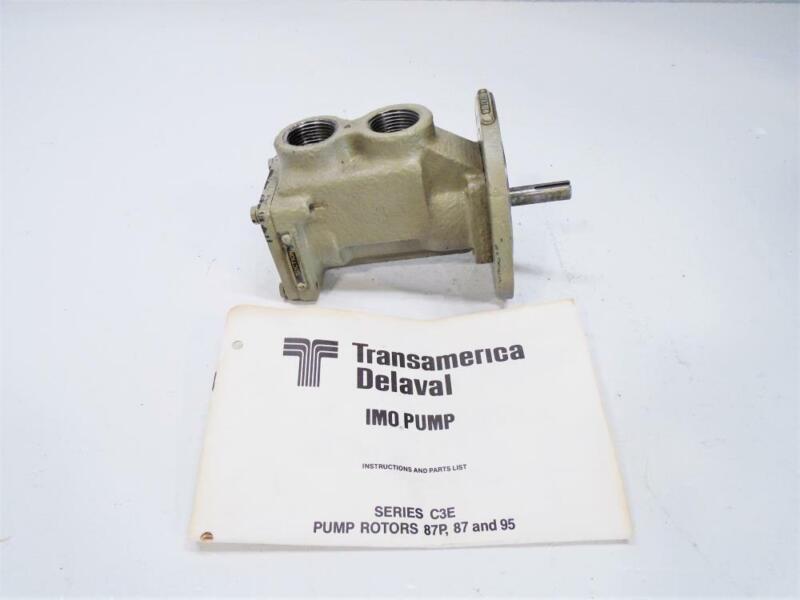 "IMO Delaval 1"" NPT Type A Pump C3EICS-95"