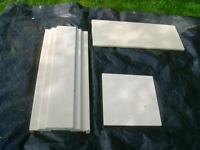 Antique MARBLE Fireplace Surround **NEW PRICE**