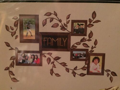 Family Frames Peel and Stick Wall Decals