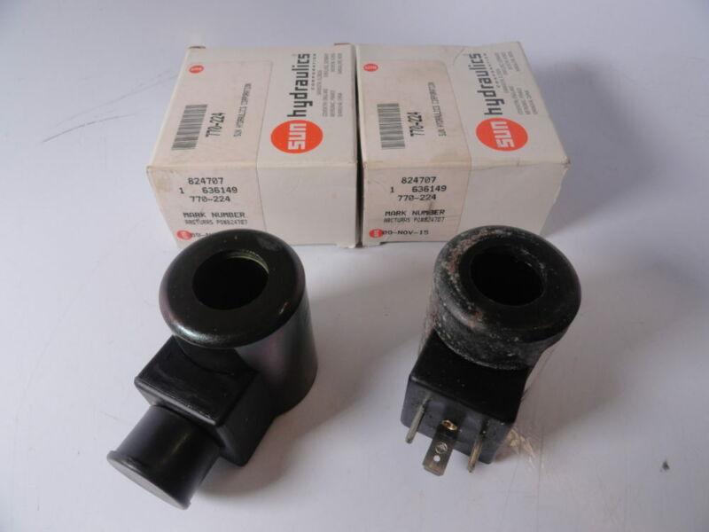 Sun Hydraulics 770-224 / 824707 Form A Connector 24 Volt DC Coils w/ TVS Diode