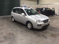 2007 Kia Carens 2.0crdi 7 seater full mot ideal family car guaranteed cheapest in country