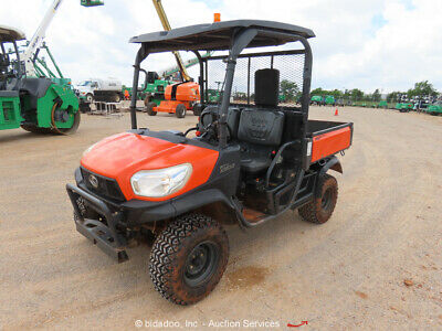 2015 Kubota RTV-X900 4WD Diesel Utility Cart Vehicle UTV Manual Dump Bed bidadoo