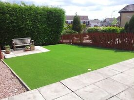 garden maintanance, grass cut/laid real and artificial turf , fence, hedges/trees trimmed or removed
