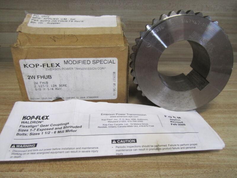 NEW KOP-FLEX 1960715 SB SLEEVE FLEX COUPLING HALF 3-1//2F
