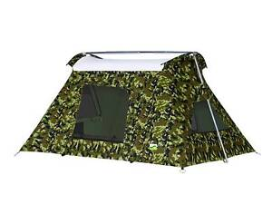 2-Person Camouflage Canvas Tent Noosaville Noosa Area Preview