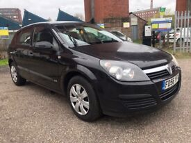 VAUXHALL ASTRA 1.6 LIFE 5DR BLACK 2006