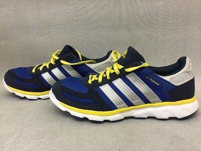 Mens Adidas LA Runner Size US 8 Blue/Yellow G66977 #BRB
