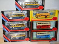 1/76 Scale Diecast Buses