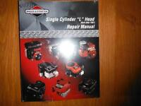 "Briggs & Stratton Single Cylinder ""L"" Head Engines Shop Manual"