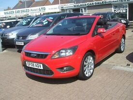 FORD FOCUS CC3 CONVERTIBLE (red) 2008