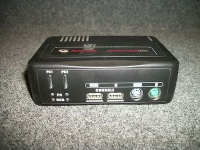 AVOCENT SWITCHVIEW MM2 2SVPUA20 2-Port KVM PS/2 2.0 USB