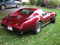 1976 Chev. Corvette, Stingray, T Top Coupe
