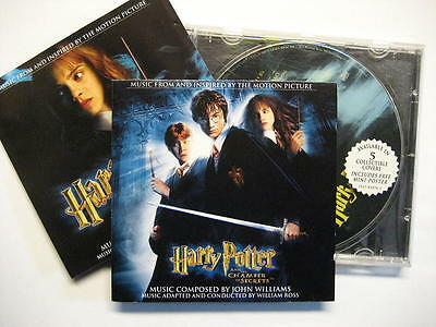 HARRY POTTER AND THE CHAMBER OF SECRETS - CD - O.S.T. - SOUNDTRACK JOHN