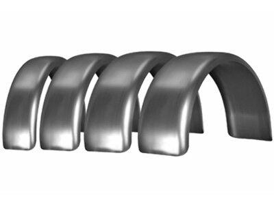 "KRAFT TECH 7.5"" FLAT REAR FENDER FOR HARLEY CUSTOM RIGID CHOPPER BOBBER K40002"