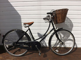 Classic Pashley bicycle including official basket.
