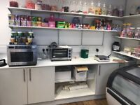 Cafe Shandaar Takeaway and Sweet shop for sale