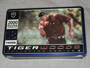 Tiger Woods Champ Golf Balls Collector Tins + Jays Bobblehead