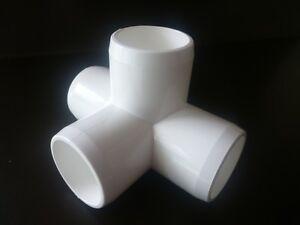4 Way L Tee PVC Connector - 20mm