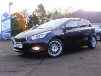 2013 Kia Ceed 1 EcoDynamics CRDI 5 Door Hatchback In Black