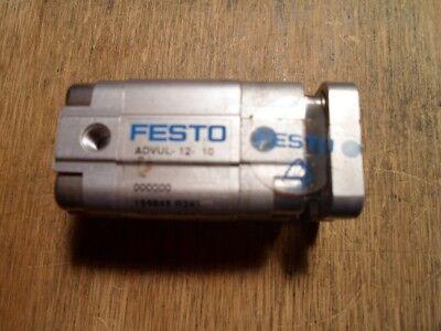 Festo Advul-12-10 Pa Pneumatic Cylinder New No Box