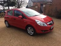 VAUXHALL CORSA 1.2 Energy, FSH, MOT Oct, Excellent Condition, Drives Perfect (red) 2010