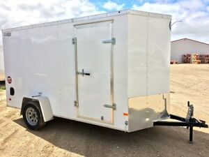 2016 Wells Cargo Fast Track FT6121 Enclosed Cargo Trailer