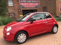 FIAT 500 C POP (red) 2009