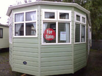 Static Caravan ABI Moderna 37 x 12 ft 3 bedrooms double glazing and central heating