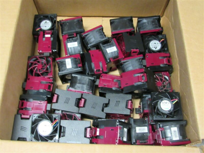 HUGE LOT of 35 77286-001 DL380 GEN9 FANS G9 - 759250-001, 796853-001!