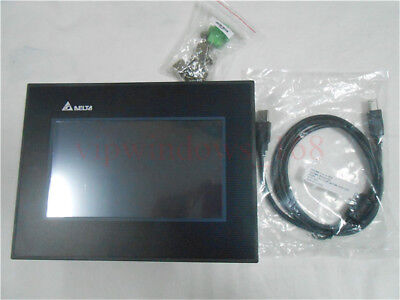 Delta 7 Inch Dop-107bv Hmi Touch Screen Operator Panel Program Cable Cnc