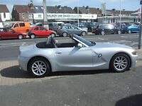 BMW 1 SERIES Z4 ROADSTER (silver) 2003