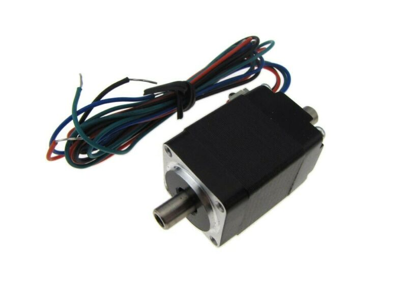 20mm Dual Hollow Shaft Stepper Stepping Motor 2 phase 4 wires 1.8 step