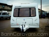 (Ref: 861) Elddis Crusader Sirocco 5 Berth Very Sought After Layout