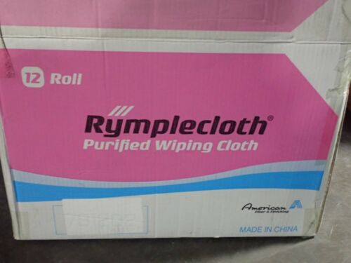"Rymplecloth AMS3819 Critical Cleaning Wipers Qty 12 Rolls of 100 10"" x 16"""