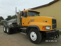 1998 MACK CL713 E9-500 65,000 LB REARS AT www.knullent.com