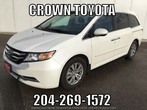 2015 Honda Odyssey EX with Rear Entertainment System! One owner