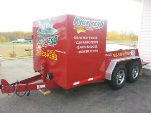 Kwik Kerb Continuous Concrete Edging Franchise For Sale ******* Edmonton Area image 1
