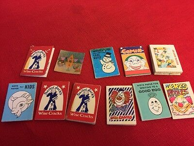 Vintage Cracker Jack Books Toy And Puzzle