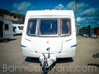 (Ref: 906) 2005 Abbey GTS 416 4 Berth Touring Caravan