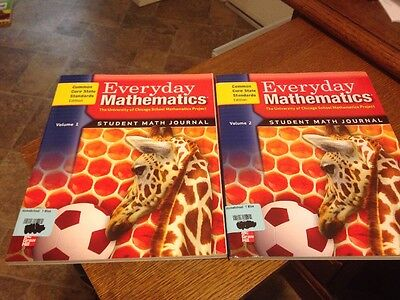 (Everyday Mathematics Grade 1 Student Math Set Journals New CCSS Common Core)