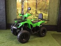 BRAND NEW 125cc MOTO MAGNUS QUAD BIKE - 4 STROKE - AUTOMATIC WITH REVERSE - RESTRICTABLE - LOW STOCK
