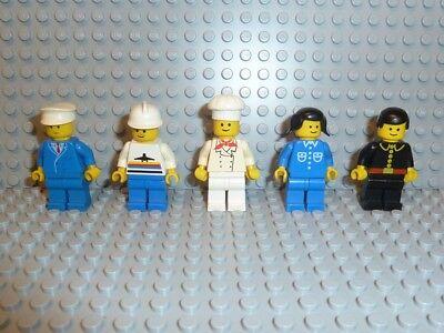 LEGO® Town Classic 5x Minifiguren Stadt City 6399 6394 6390 Figuren figure F1030