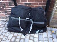 Dhb wheeled soft bike bag