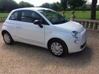 FIAT 500 1.2 Pop,FSH, MOT 032018. Just Serviced, Immaculate all round (white) 2013