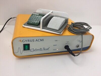 Gyrus Acmi Cw-uslg Cyberwand Console Lithotriptor System With Footswitch