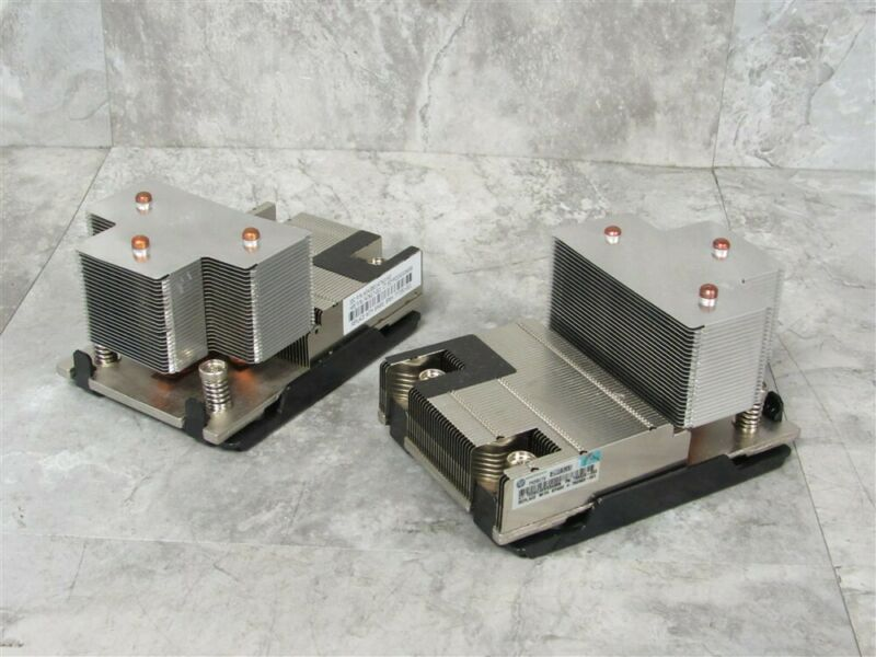 Lot of 2 HPE 777291-001 ProLiant DL380 Gen9 Server High-Performance CPU Heatsink
