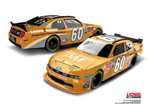 60-Trevor-Bayne-2012-UNIV-TENNESSEE-We-Back-Pat-1-24-Scale-Diecast-Hood-Open