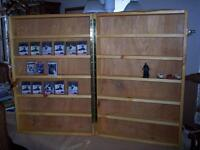 Wooden Counter Top Display for Sports Cards, Figurines $225.