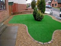 THE WINTER GARDEN ARTIFICIAL GRASS 18mm grass NOW £9.99 Sqm